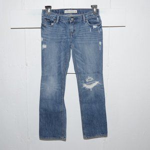 Holister destroyed womens jeans size 5 S 7833